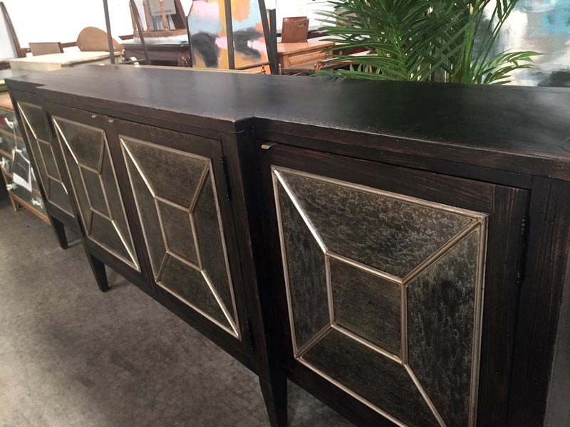 Dark Distressed Wood Furniture
